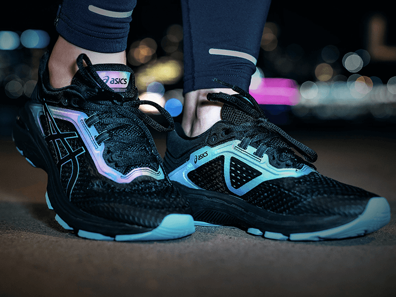 asics lite show mujer