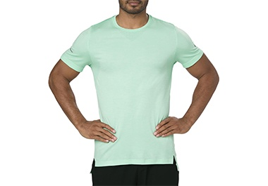 Mens green workout shirt