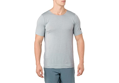 Mens grey sports tee shirt