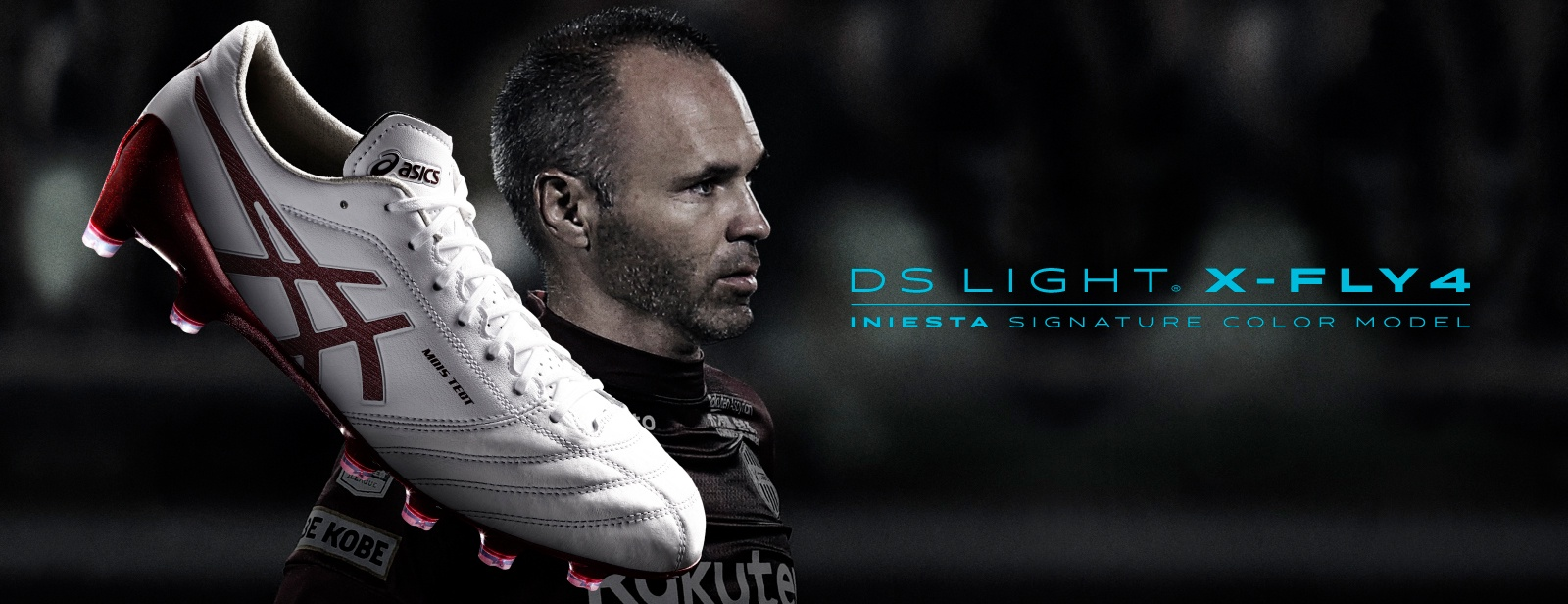 DS LIGHT X-FLY4 INIESTA SIGNATURE COLOR MODEL