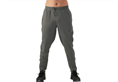 Woven Track Pant in grey