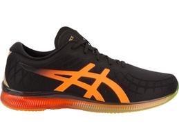 orange and black gel-quantum infinity shoe