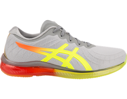 yellow, orange, and grey gel- quantum infinity shoe