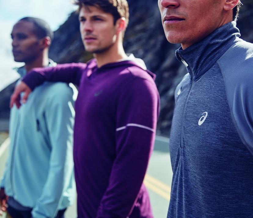 close up of three men's shirts