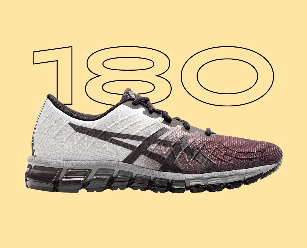Black and White Gel-Quantum 180? shoe