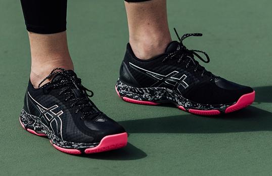 high top netball shoes