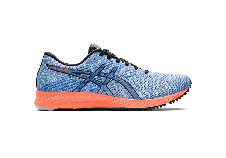 Women's blue and orange DS Trainer running shoes