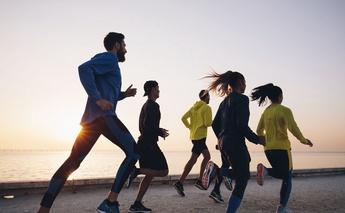 Running'