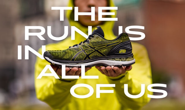 NEW ASICS GEL NIMBUS™ 20 | THE RUN IS IN ALL OF US
