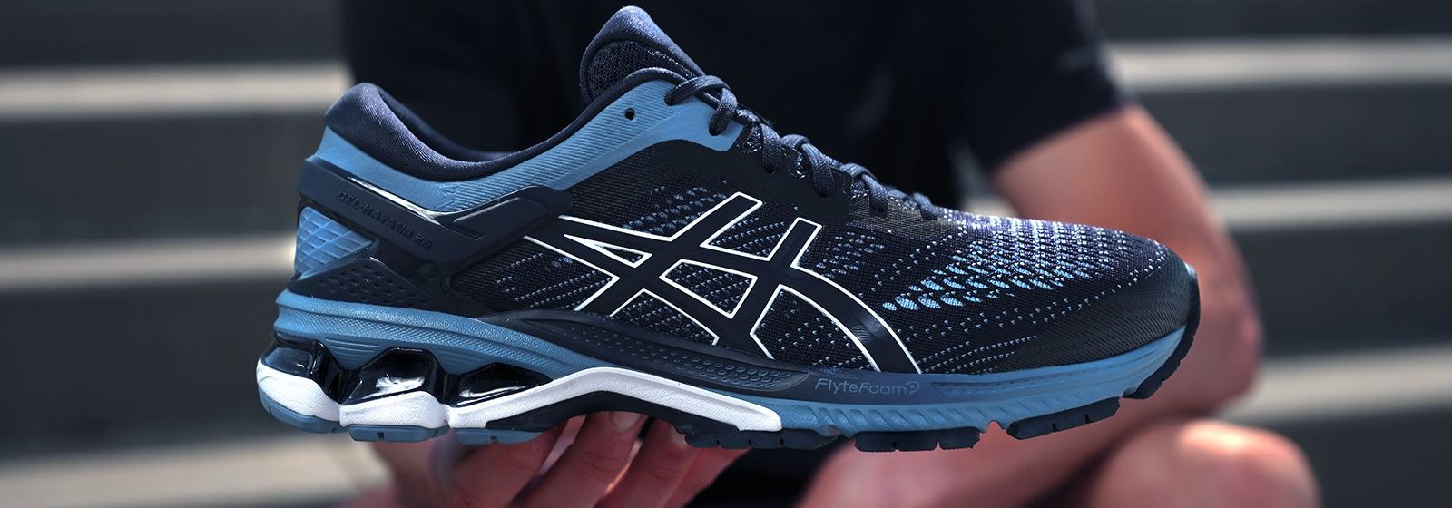 GEL-Kayano 26 Banner