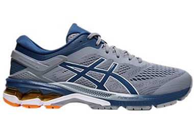 Gel-Kayano 26 SHEET ROCK/ MACO BLUE