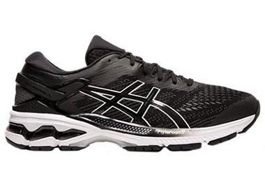 Men's GEL-KAYANO 26 BLACK/ WHITE