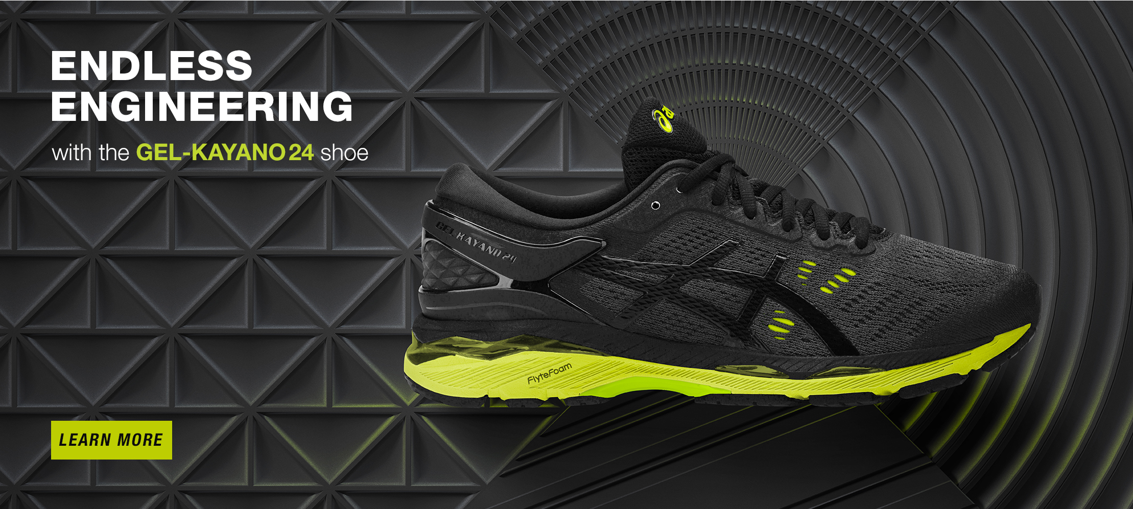 asics structured running shoes