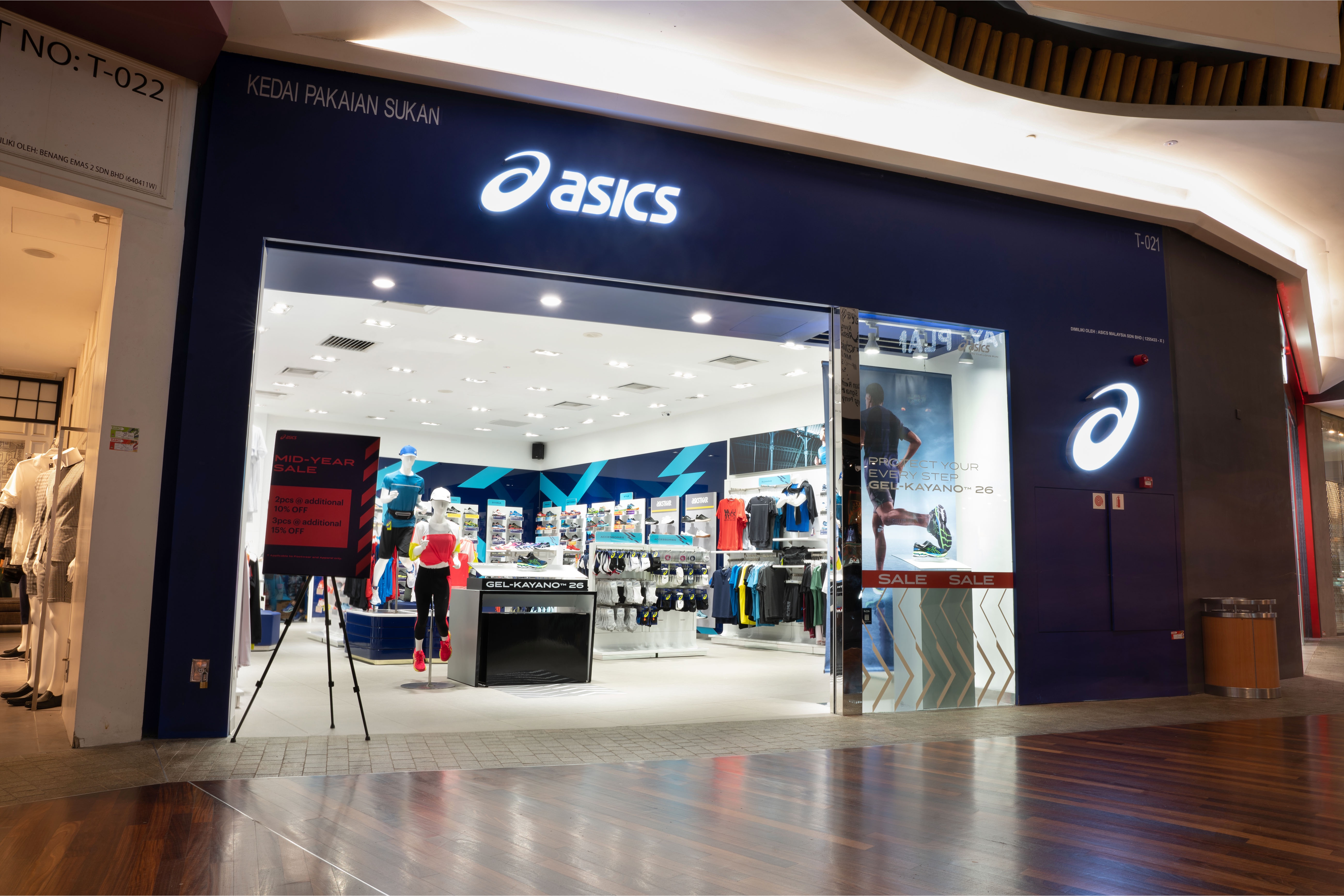 ASICS MID VALLEY MALL | Official ASICS Store | ASICS MY