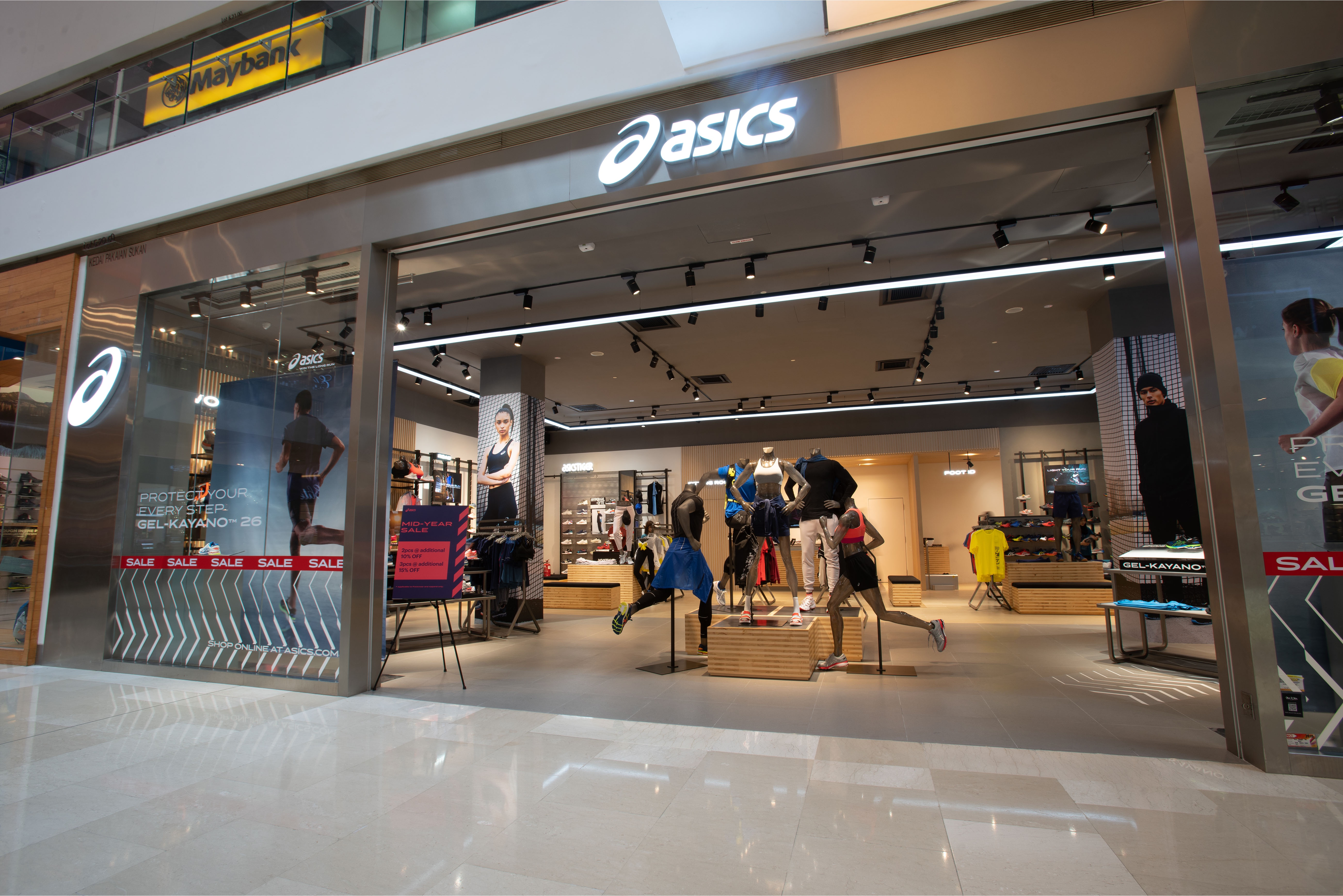 what stores sell asics