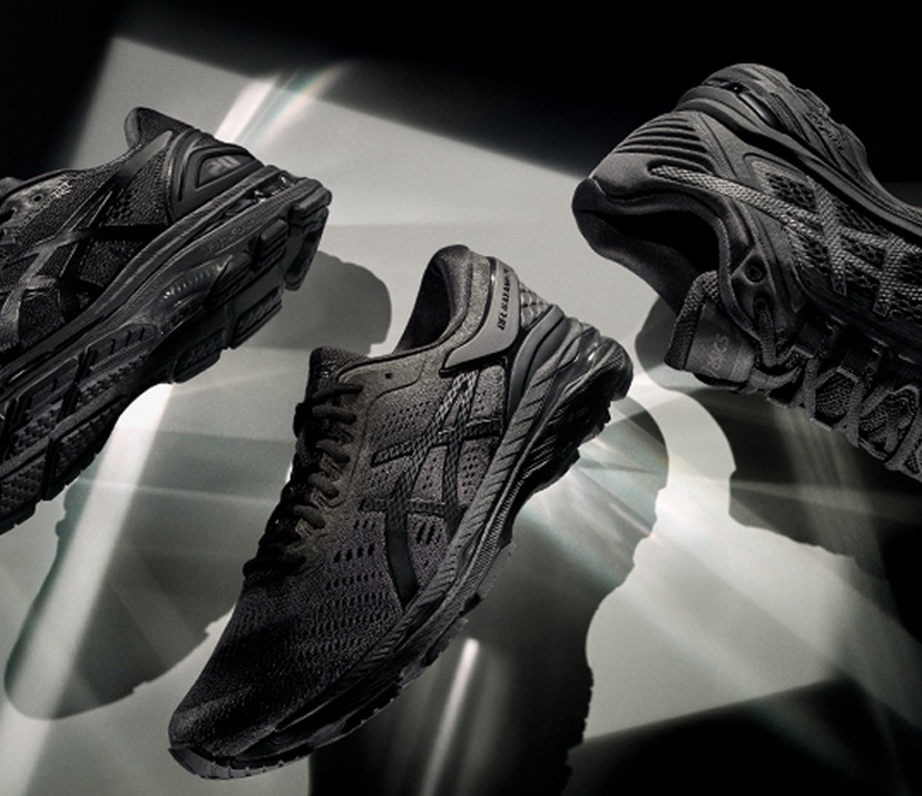 2018 buty outlet na sprzedaż 2018 buty The Monochrome Collection for All Black Running Shoes | ASICS US