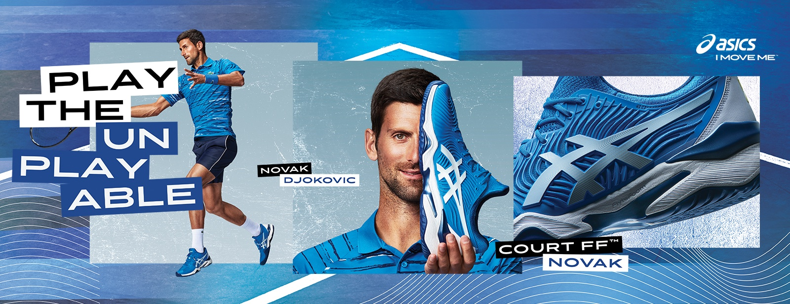 Court FF Novak US OPEN