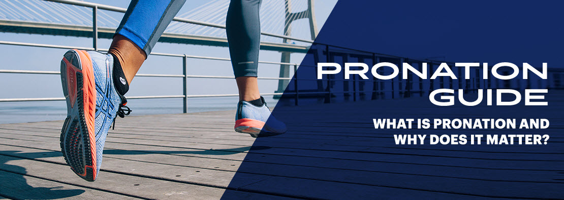 asics shoe pronation chart