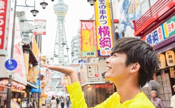 【SKY RUNTRIP】モデル・相馬理さんと行く、大阪観光スポットめぐりRuntrip