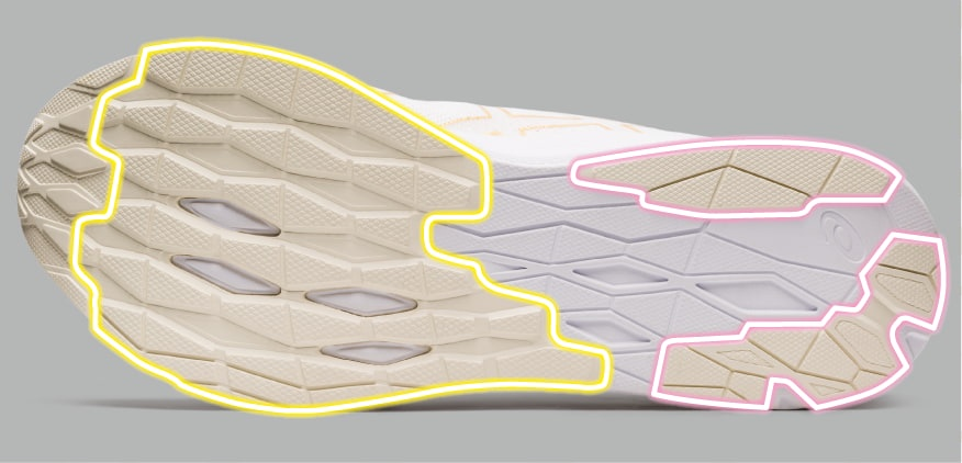 evoride function outsole