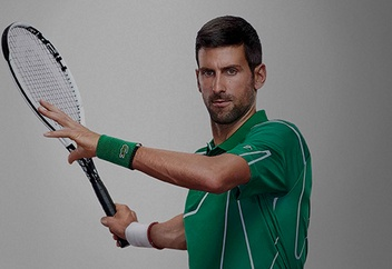 ASICS Tennis Player Novak Djokovic