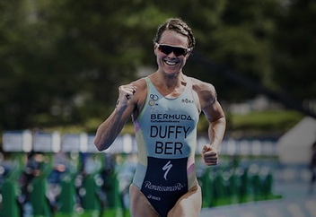 ASICS Triathlon Athlete Flora Duffy