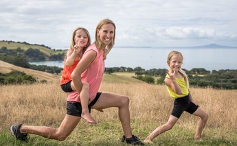 Lorraine Scapens on leading an active mum lifestyle
