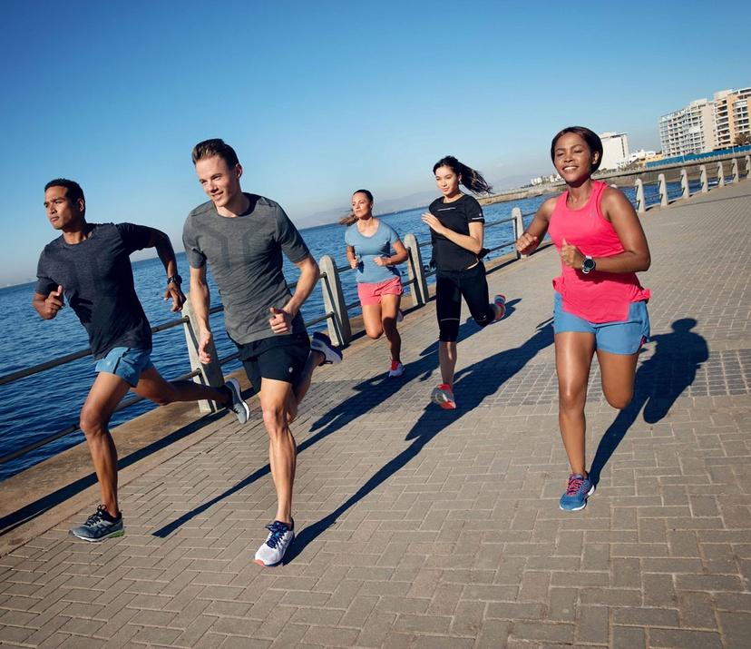 Group Training for a Marathon