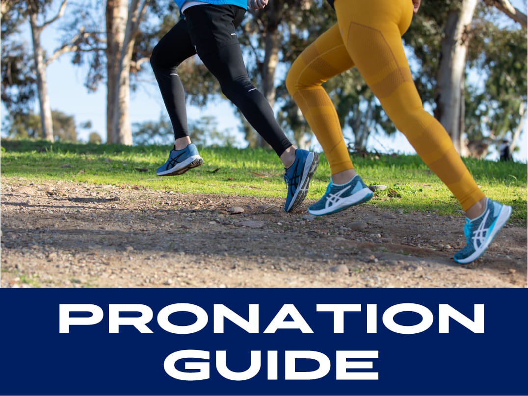 RUNNING SILO pronation guide banner