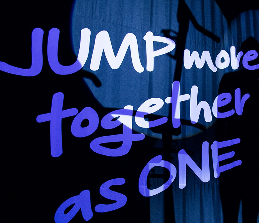 JUMP more, together as ONE