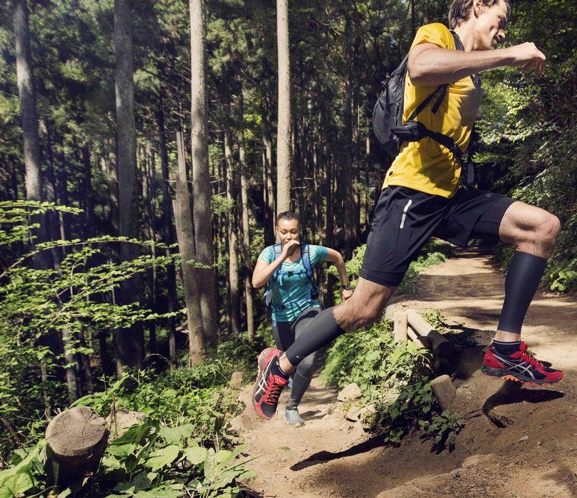 trail running asics