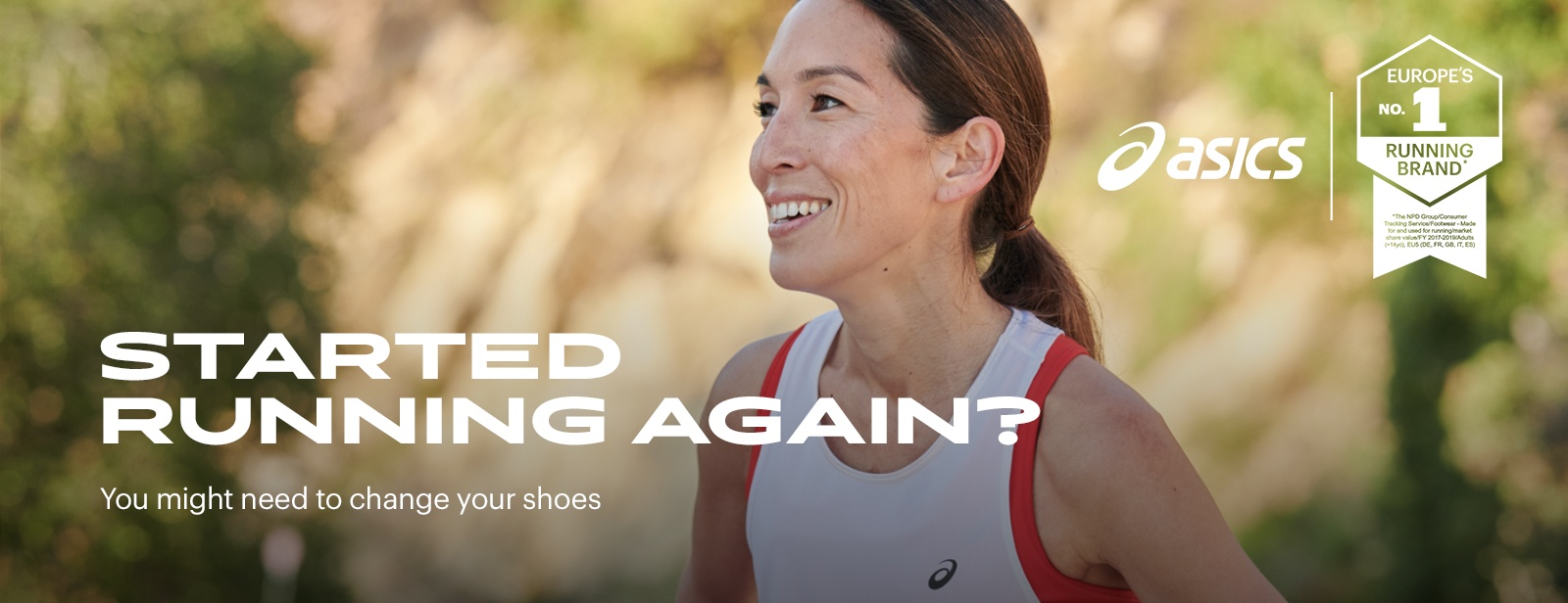 changing running shoes