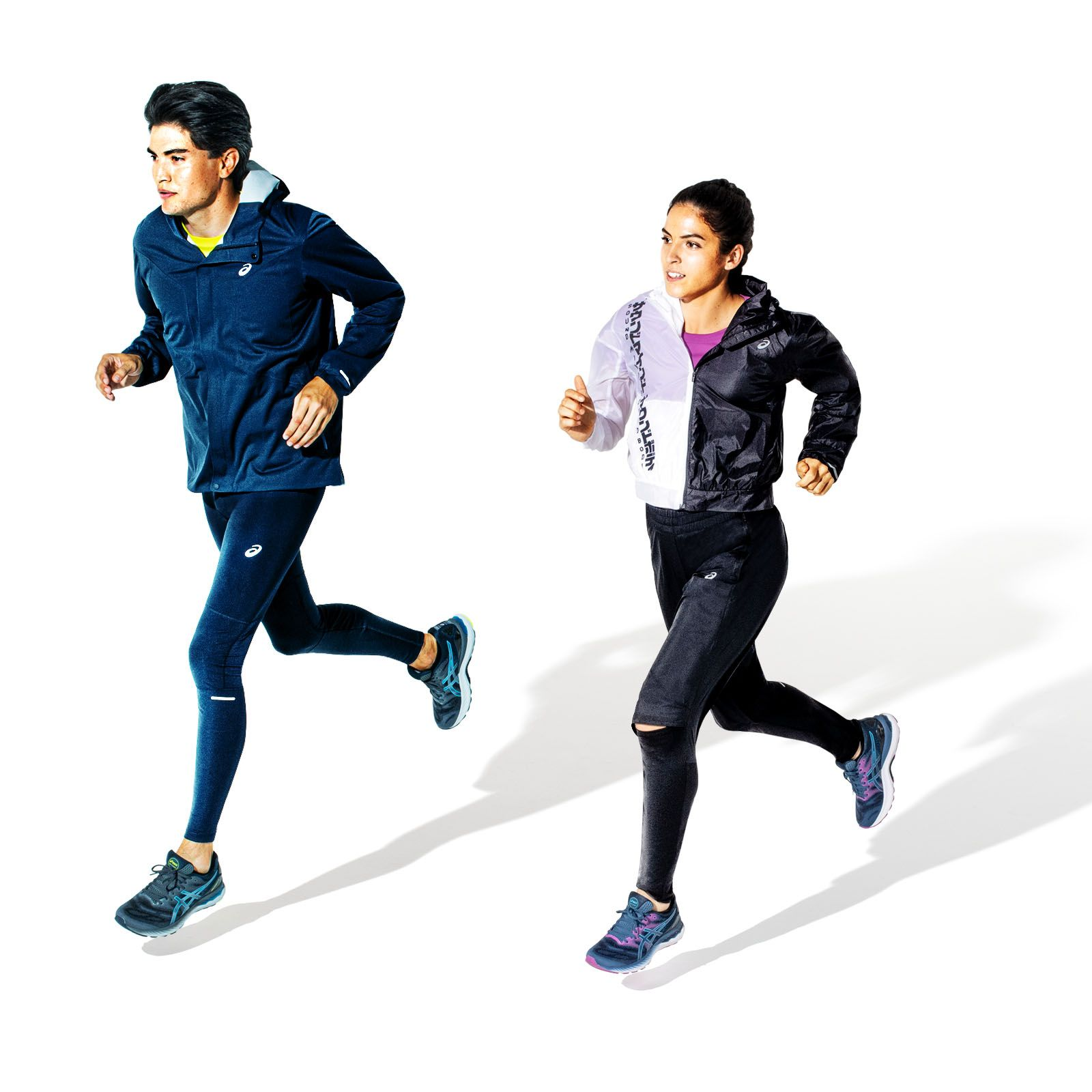 Runners wearing the new GEL-NIMBUS™ 23 shoes