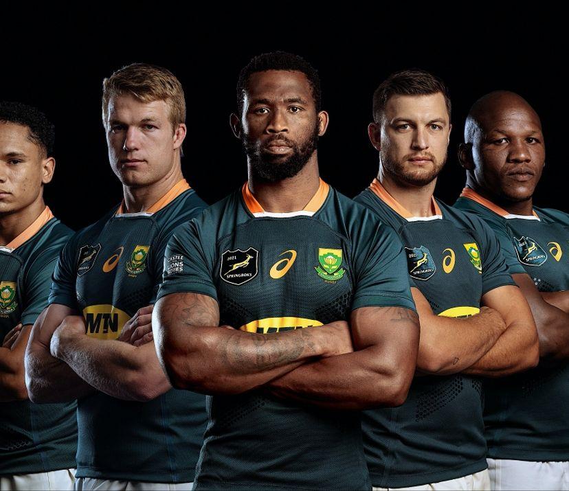 Say hello to the unique Springbok jersey for the British & Irish ...