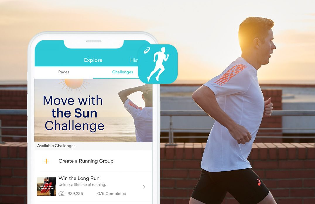 Move with the Sun Runkeeper Challenge