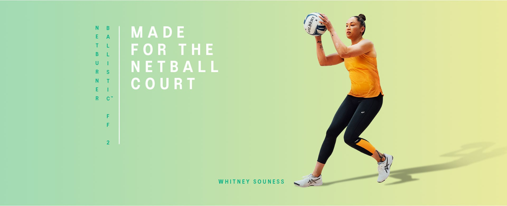 Made For the Netball Court