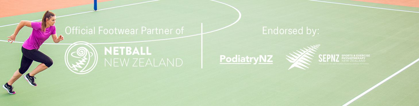 Proud Sponsors of Netball NZ, PodiatryNZ and SEPNZ