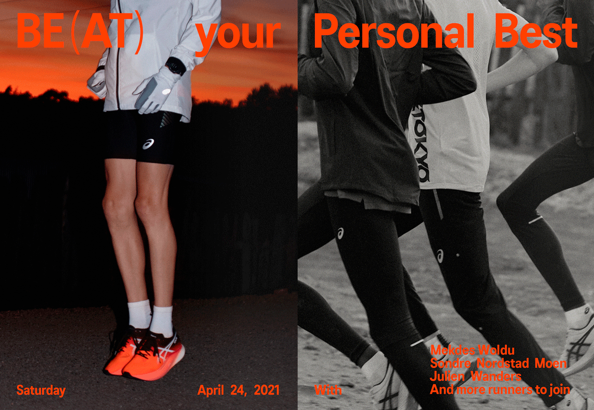 ASICS Frontrunner - Be(at) Your Personal Best