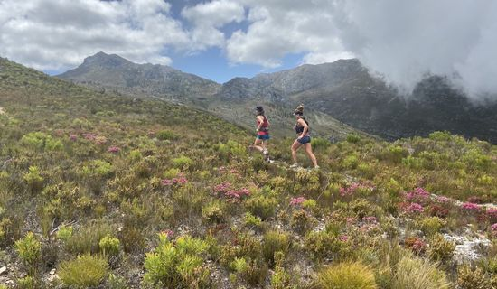 Trail running in Franchhoek