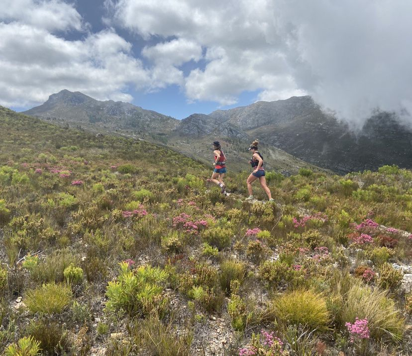 Trail running in Franchhoek