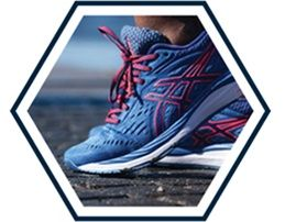 Desktop: CUSHIONING: Comfortable enough to keep you going. Rearfoot and forefoot GEL® technology absorbs shock as you run.