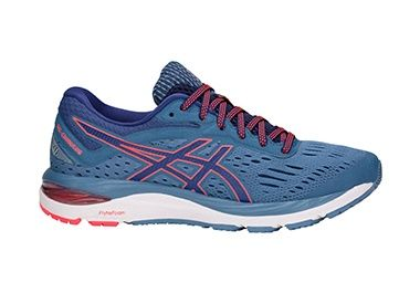GEL-Cumulus 20 Azure/Blue shoe for women.