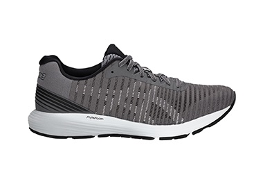 Men's gray running shoe.