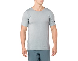 White men's athletic shirt.