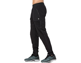 Black men's athletic pants.
