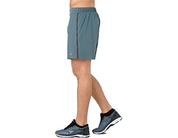 Blue men's athletic shorts.