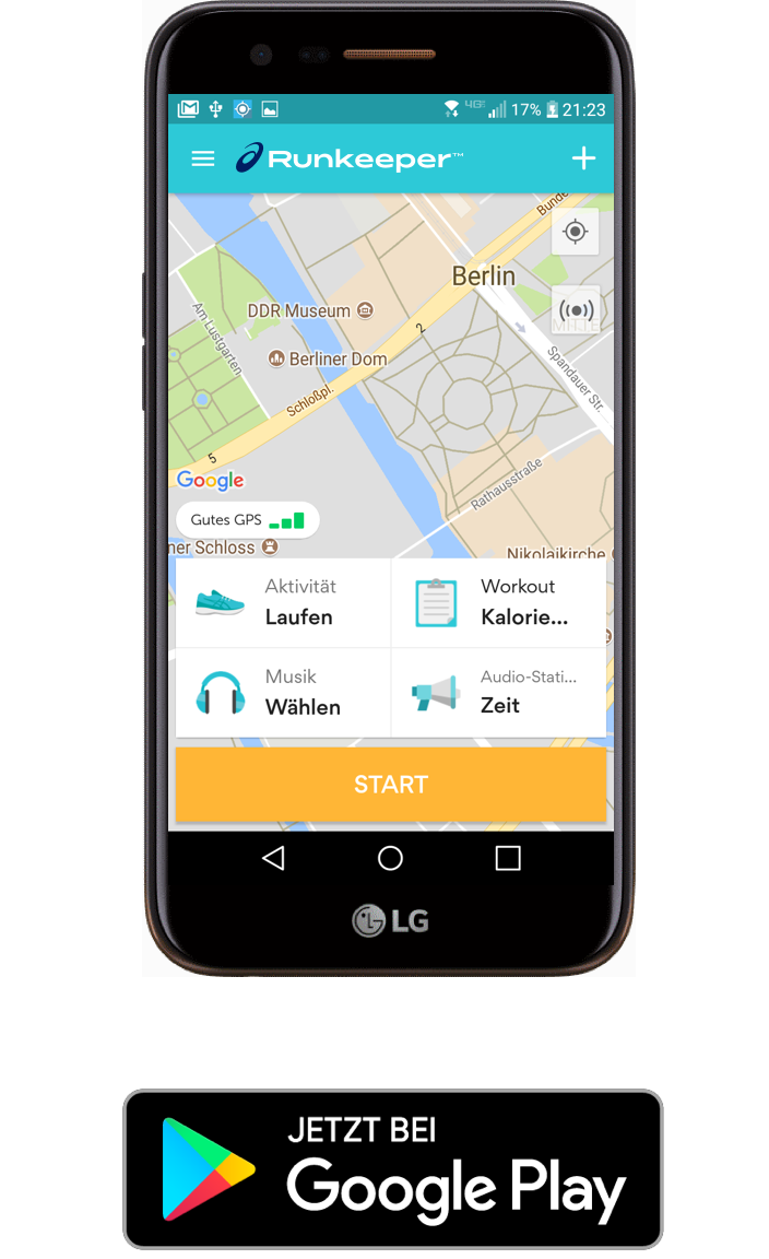 RK platform Android and store button - German