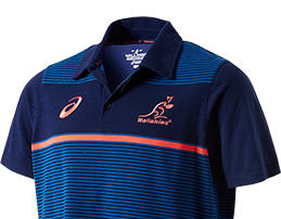Mens Wallabies Supporter Polo Shirt
