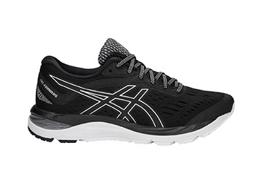 Mobile: GEL-Cumulus 20 Black/White for men.