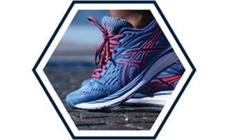 Mobile: CUSHIONING: Comfortable enough to keep you going. Rearfoot and forefoot GEL® technology absorbs shock as you run.